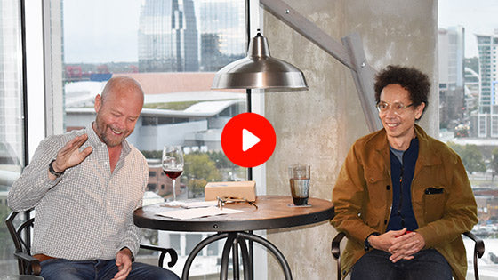 Drinks with Malcolm Gladwell