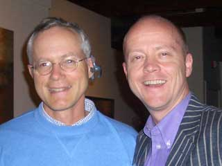 Scott Cook, founter & CEO of Intuit wearing the Plantronics Voyager 510
