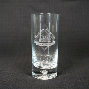 Limited Edition 10th Year Anniversary Crystal Glassware