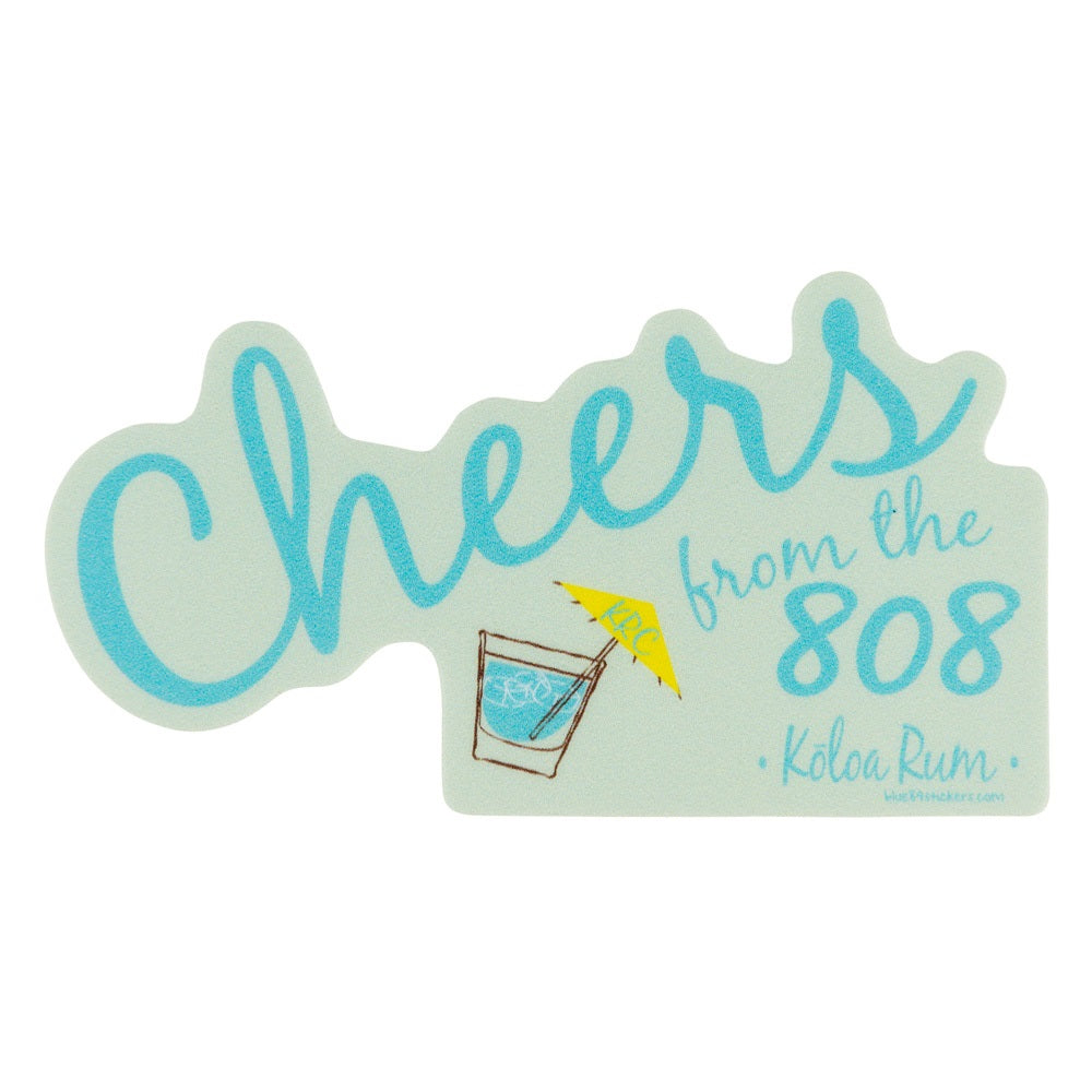 Sticker-Cheers 808