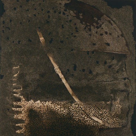 Rameshwar Broota, Traces of Man. Unknown Soldier II, 2000, oil on canvas