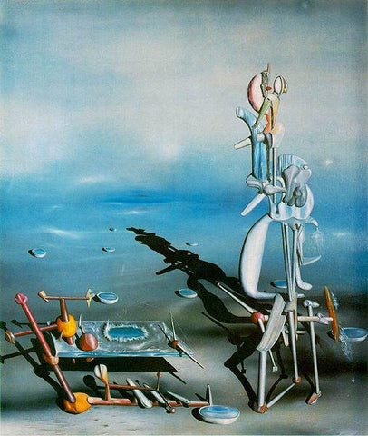 Yves Tanguy, Indefinite Divisibility, 1942