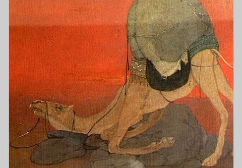 Abanindranath Tagore, Journey's End, 1913
