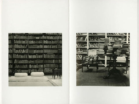 Dayanita Singh, Chairs, 2005, set of 22 tritones, 3.54 x 5.5. From the series Chairs