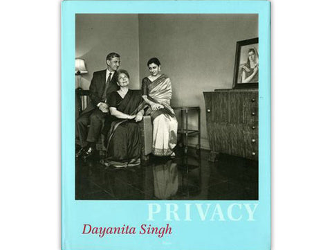 """Dayanita Singh, Privacy, 2004, 128 pages book, clothbound hardcover with dust jacket, 7.8 x 9.4"""". From the book Privacy, with texts by Dayanita Singh and Britta Scmitz"""