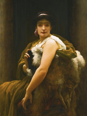 Leighton's Twixt Hope and Fear, Courtesy Sotheby's