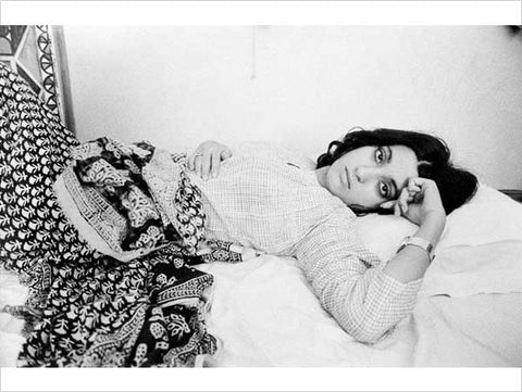 """Pablo Bartholomew, Pooh in Bed, 1975, from the exhibition series """"Outside In, A tale of 3 Cities… the 70s and 80s"""""""