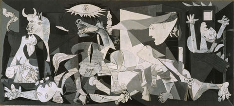 """Pablo Picasso, Guernica, 1937, oil on canvas, 137.4 x 305.5 """""""