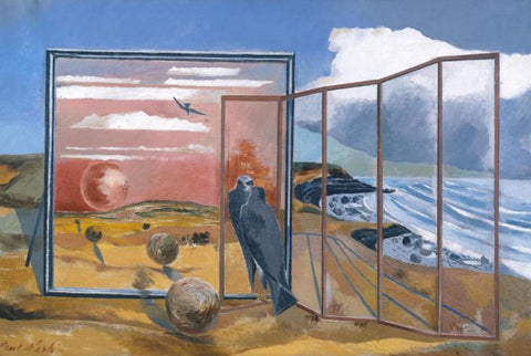 Paul Nash, Landscape from a Dream, 1936–8, Oil paint on canvas, 679 x 1016 mm, Collection Tate.
