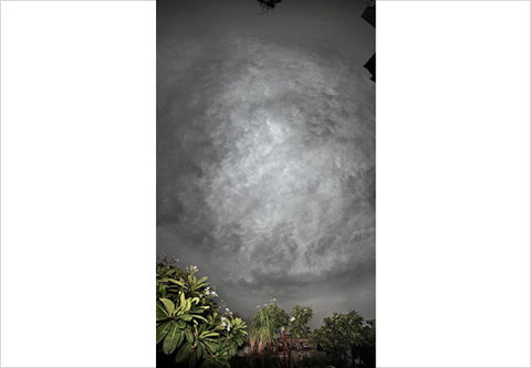 Raghu Rai , CLOUDS SERIES 6, 2010, digital scan of photographic negative on archival paper, 30 x 20 in