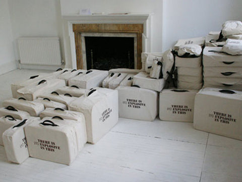 Shilpa Gupta, There is No Explosive in This, 2007, site-specific interactive installation