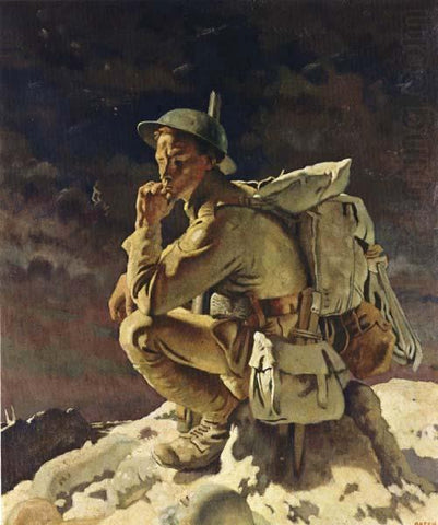 Sir William Orpen, The Thinker, 1918.