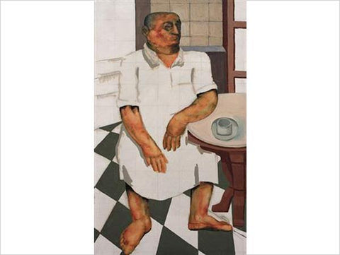 Sudhir Patwardhan, Untitled, 1970, oil on canvas, 39.5 x 23.5 in