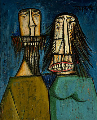 Another painting by Souza, 'Man and Woman Laughing' (1957) was sold earlier for $2.59 (Rs. 16.84 crore).