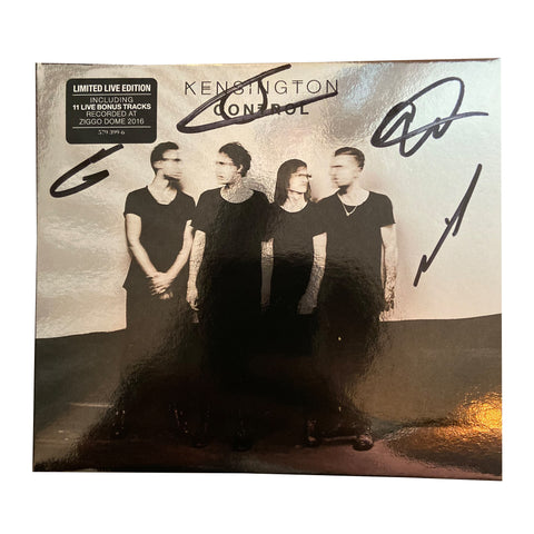 Control (Limited Live Edition) (CD) (Signed)