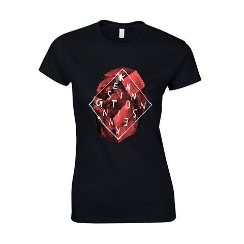 "T-shirt ""Stone"" (women, black)"