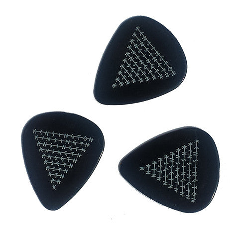 Guitar pick (black)