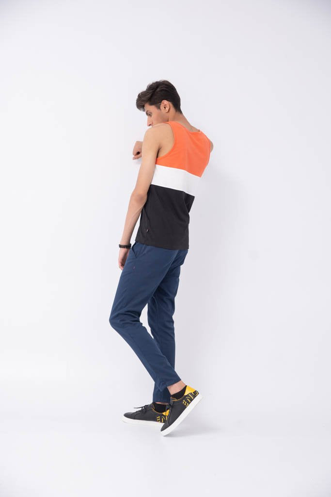 COLOR BLOCKING VEST