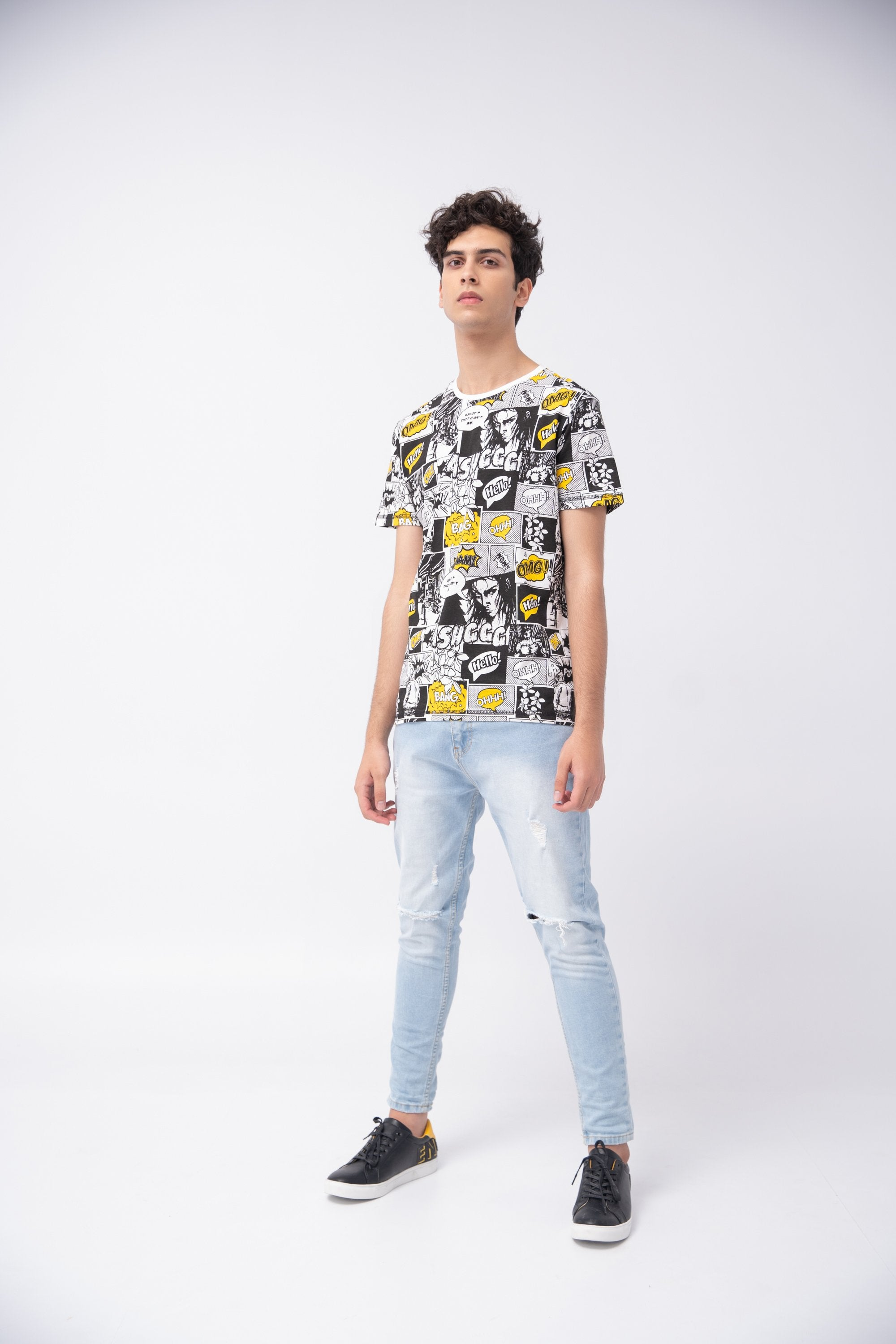 DIGITAL FASHION PRINT TEE