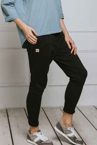 MEG || Organic Cotton & Cashmere Sweatpants