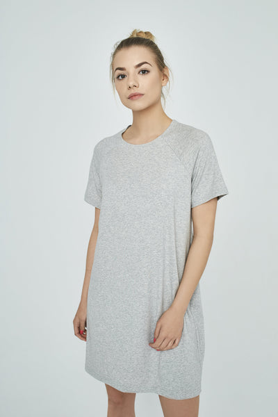 SANDRA || Cotton Grey Tunic