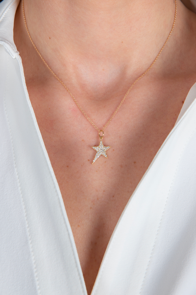 Details by CoatTails Star Necklace