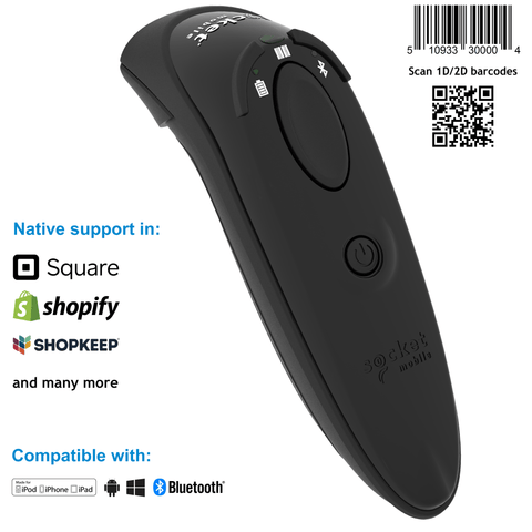 DuraScan® D760 Ultimate Barcode Scanner and Passport Reader - Socket Mobile