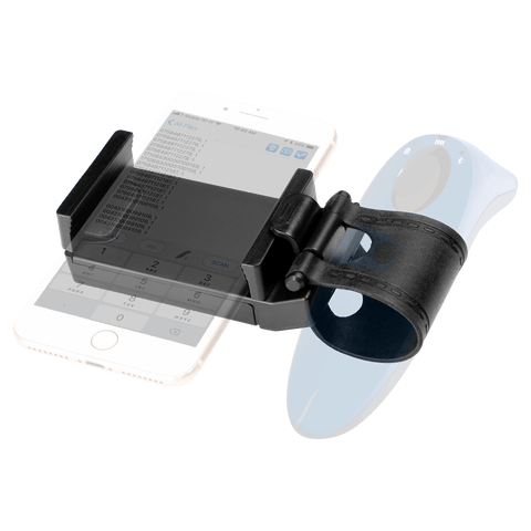 Scanner & Phone Holder for 600/700 Series Products - Socket Mobile