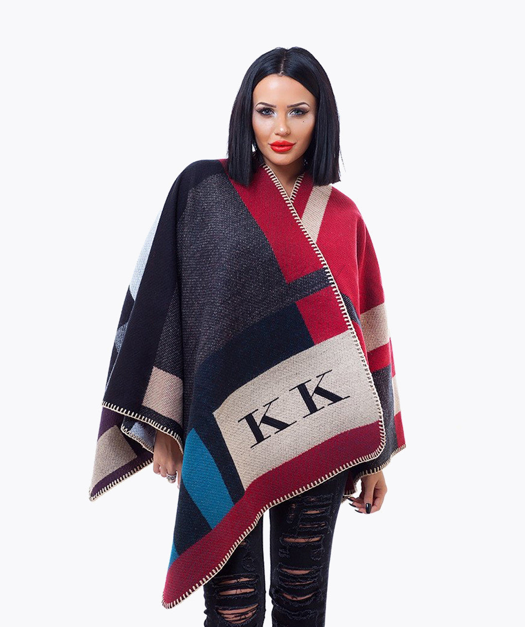 PERSONALISED MONOGRAMMED CAPE - KENSINGTON