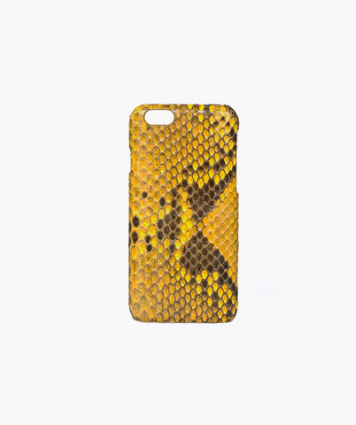 PYTHON IPHONE CASE - YELLOW