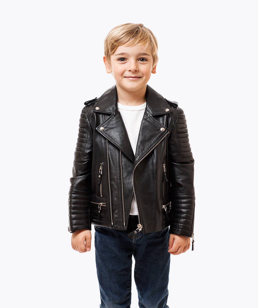 Leather jackets kids
