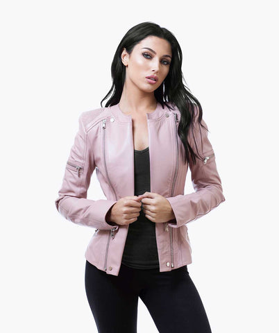 BENTLEY BIKER - BLUSH