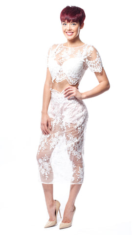 Lovelle Lace  - Two Piece