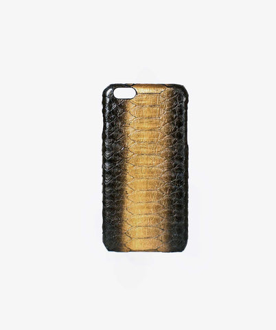 PYTHON IPHONE CASE - BLACK/GOLD