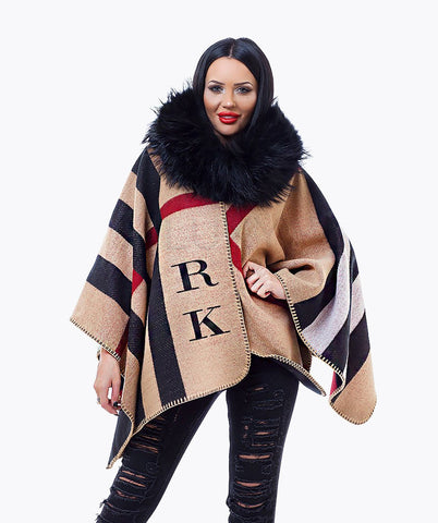 PERSONALISED MONOGRAMMED CAPE - KNIGHTSBRIDGE