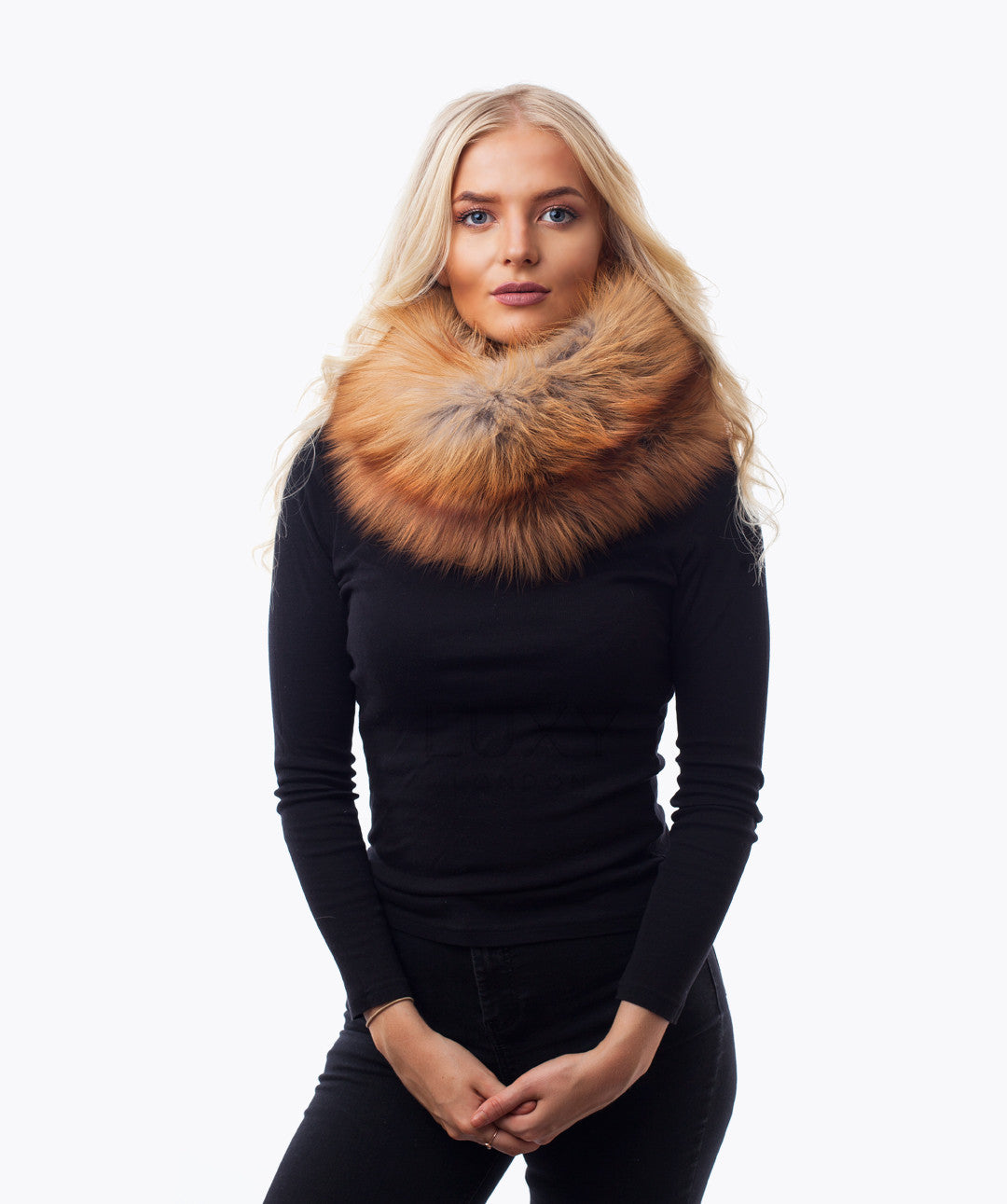 MAGNETIC SNOOD - GOLDEN FOX