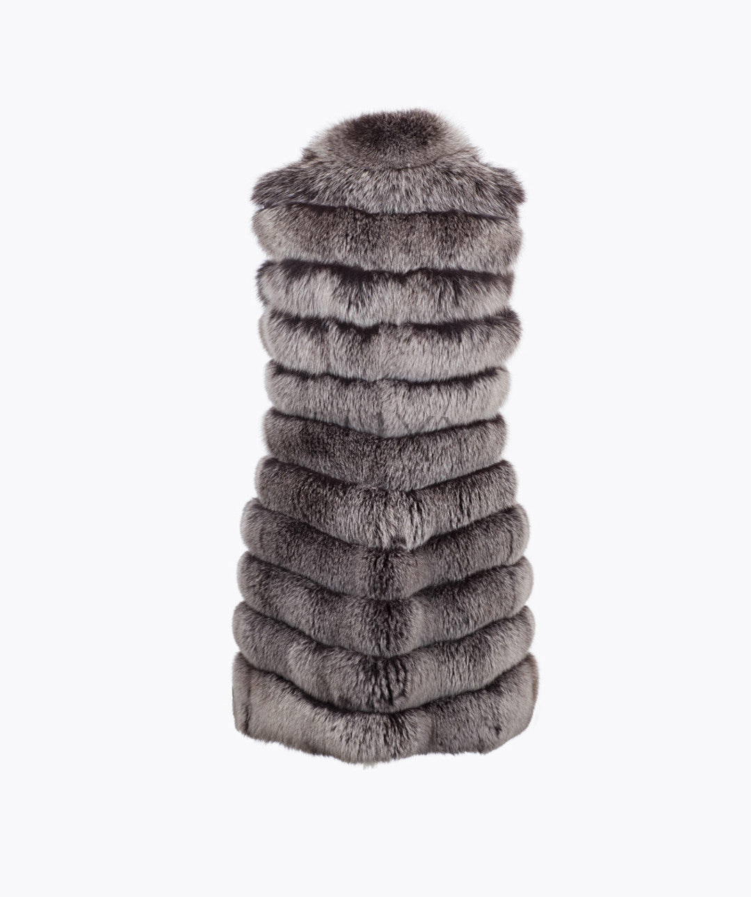 Fox Fur Gilet - Mink