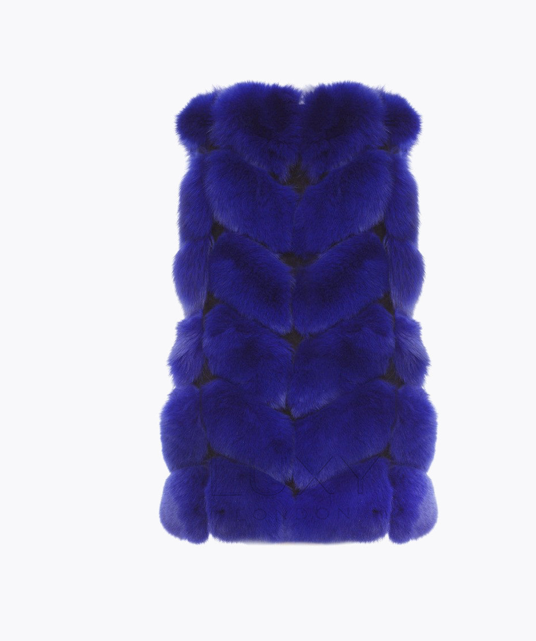 FOX GILET - COBALT BLUE