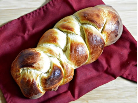 Challa made for rosh Hashanah