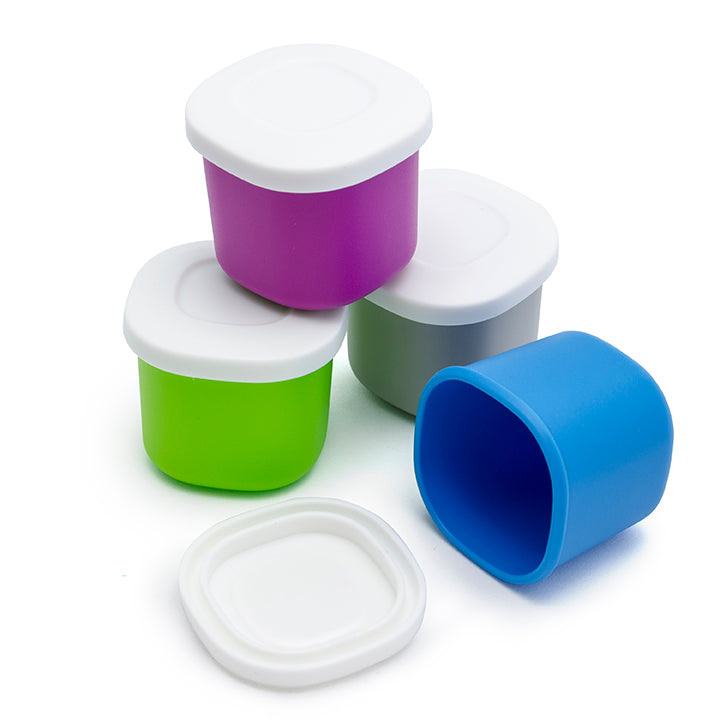 Bentgo Sauce Containers (2 Pack) - 1.35oz Leak-Resistant, BPA-Free Sauce Dippers Make it Easy to Transport Your Favorite Sauces, Dressings and Garnishes On the Go