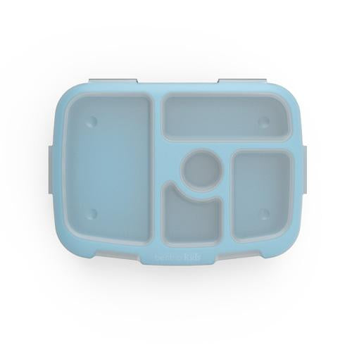 Bentgo Kids Brights Lunch Box Tray with Transparent Cover