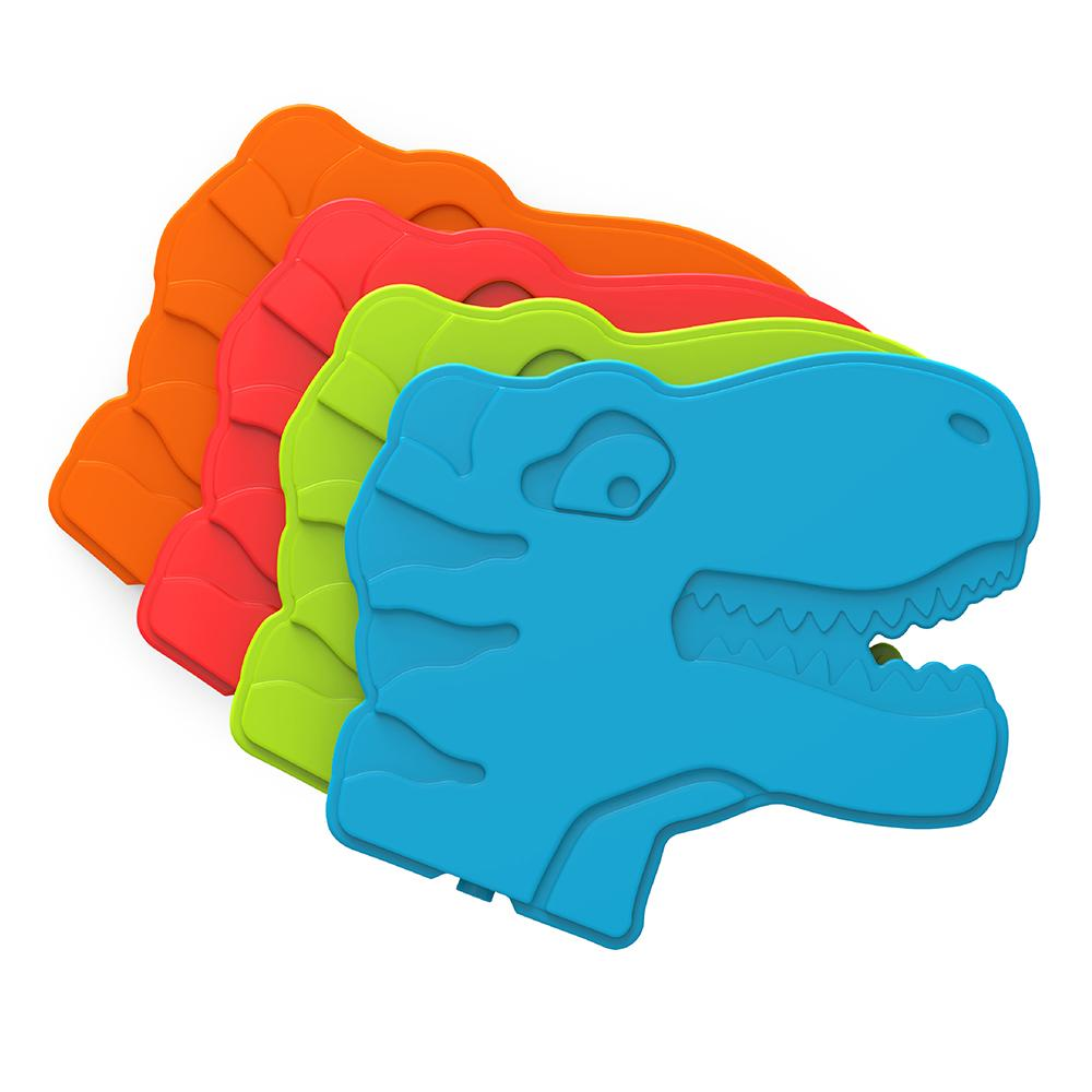Bentgo Buddies Reusable Ice Packs - 4 Pack (Dinosaur)