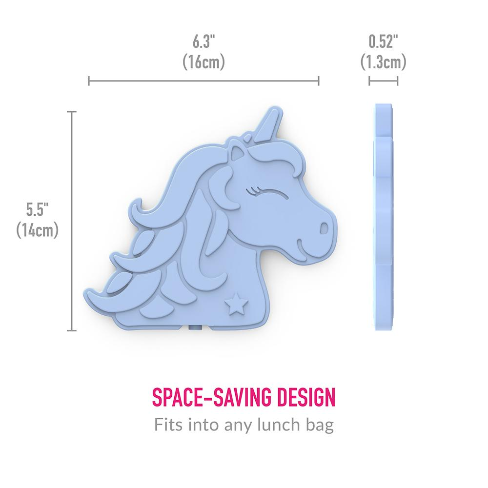 Bentgo Buddies Reusable Ice Packs - 4 Pack (Unicorn)