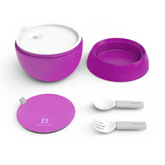 Bentgo Bowl - Insulated Lunch Container with Retractable Utensils Set