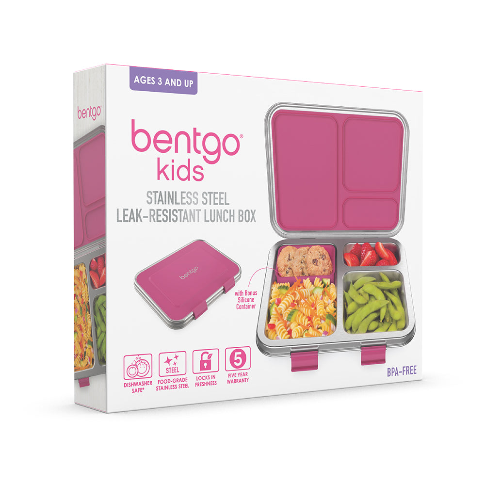 Bentgo Kids Stainless Steel Lunch Box