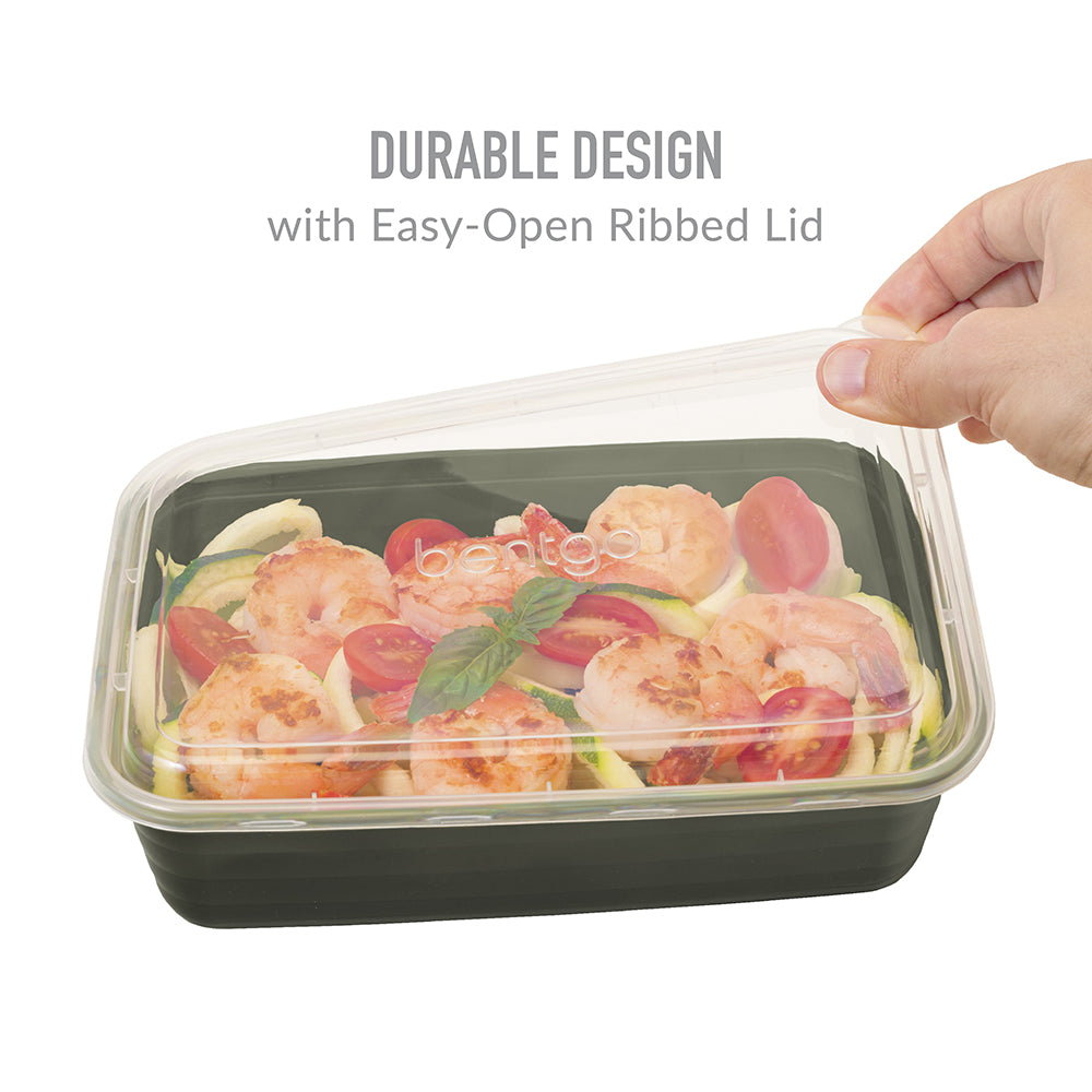 Bentgo Prep 1-Compartment Meal-Prep Containers