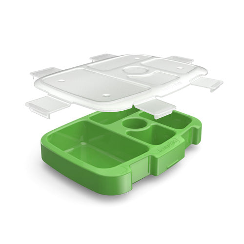Bentgo Kids Lunch Box Tray with Transparent Cover
