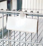 Wire shelving Label Holders and Tags