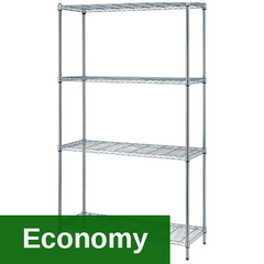 RWR 1 Box Shelving unit (Chrome)