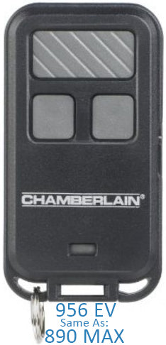 Chamberlain 956 ev 3 button mini keychain remote
